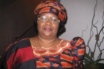 Joyce Banda Malawi's first female vice president
